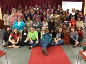The women of the first ever Mukti Network Encouragement Retreat